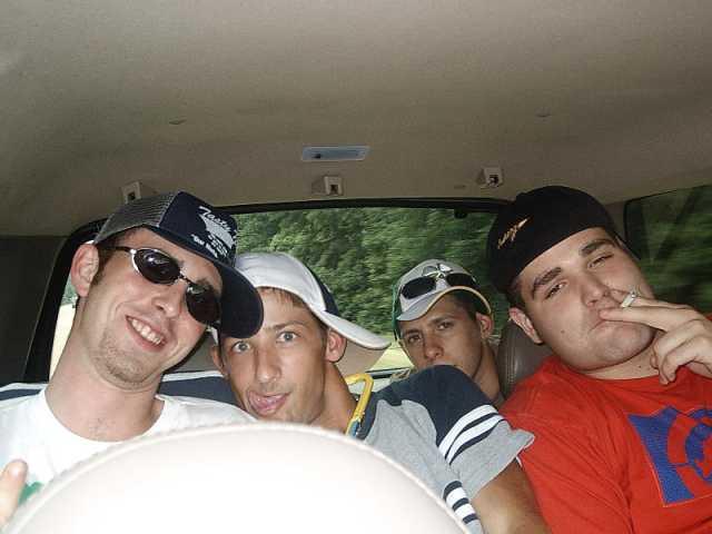 Trenton, Gabriel, Landon, and Kenny
