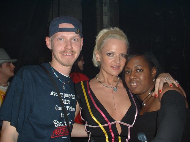 Tim, Spacegirl, & Tina