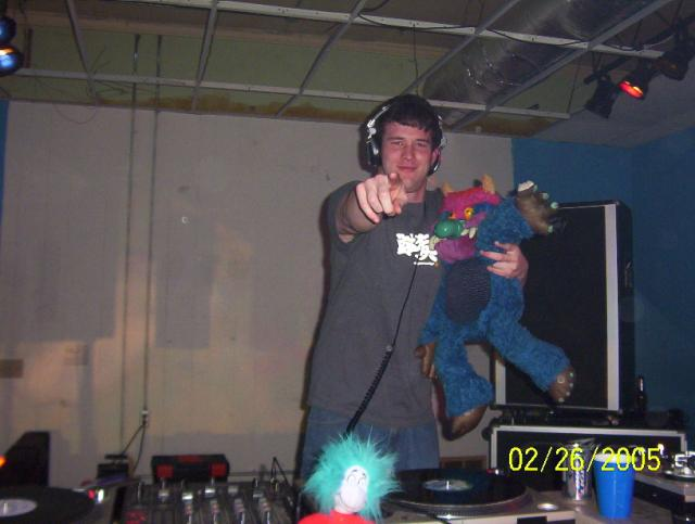 Warmack got a little too friendly with my Pet Monster that night